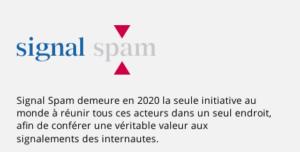 Initiative Signal SPAM